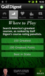 Golf Digest Course Critic Android Apps Review