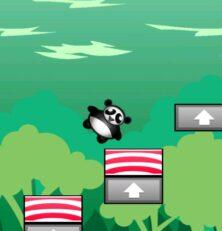 Shaking Tower Panda: The Endangered Version of Jenga