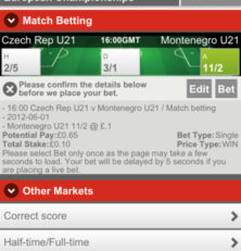 Secure Multiple Betting with Sports Bet