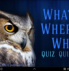 Top Trivia with What? Where? When? Quiz