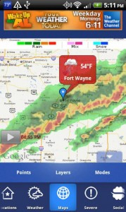 The Weather Channel Android App Review