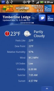 The Weather Channel Android Apps Review