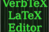 VerbTeX LaTeX: The Best Way to Type LaTeX on the Go