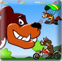 Defend Your Neighborhood from Invading Critters in Dog Rush
