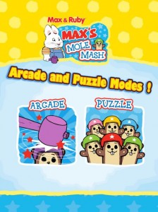 Max & Ruby: Max's Mole Mash Android Game
