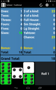 Yahtzee! Free Android Game