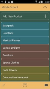 Backpack Android App
