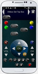 ZappIR Universal IR Remote Android App
