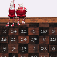 Countdown to Christmas with Advent Calendar