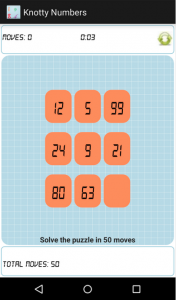 Knotty Numbers Android Game