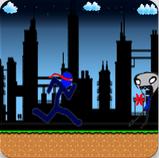 Run, Jump and Shoot in Stickman Ninja