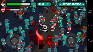 Panda vs Zombies Android Game
