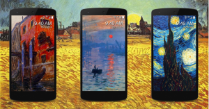 Muse Art Lock Screen Android App