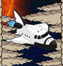 Space Caverns is a Fast Paced Space Game