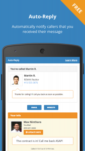 Youmail Visual Voicemail Android App