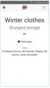 Storesh Android App