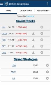 Option Strategies Android App